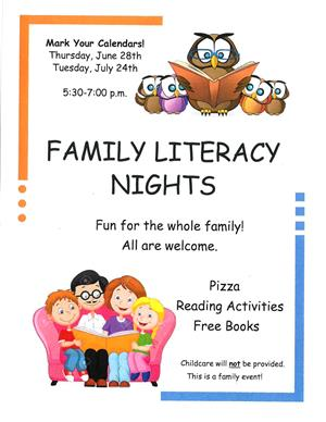 Family Literacy Nights