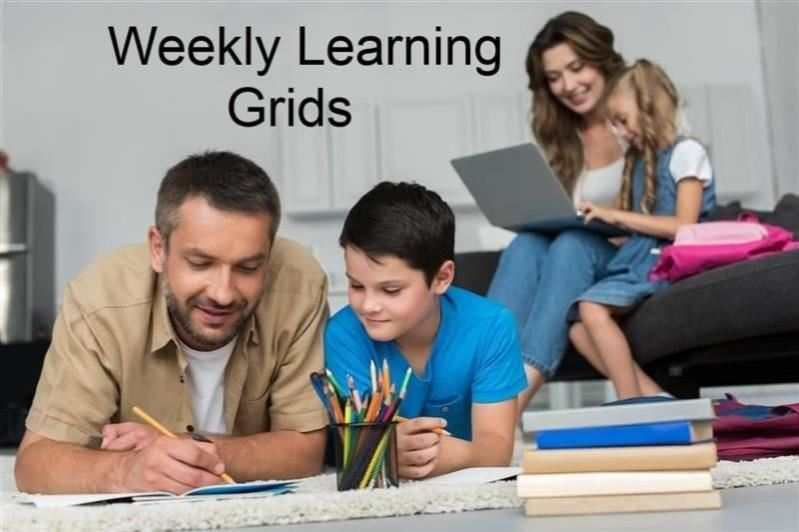Weekly Learning Grids