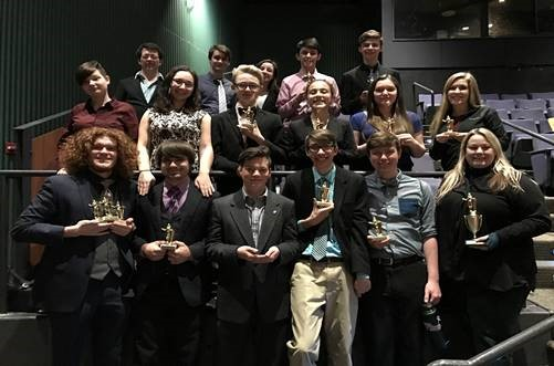 speech and debate team at ashland competition