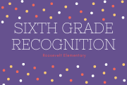 Sixth Grade Recognition
