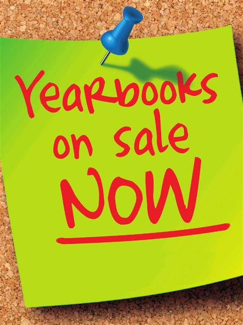 YEARBOOK PRE-SALE $10