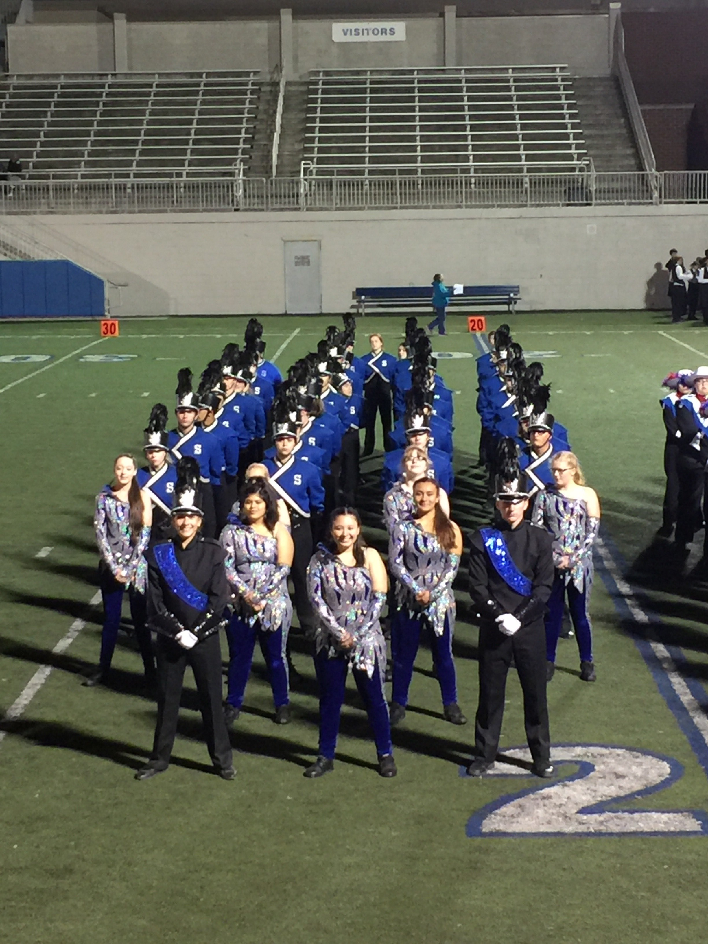 south medford marching band photo