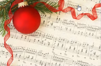 ornament on music sheet