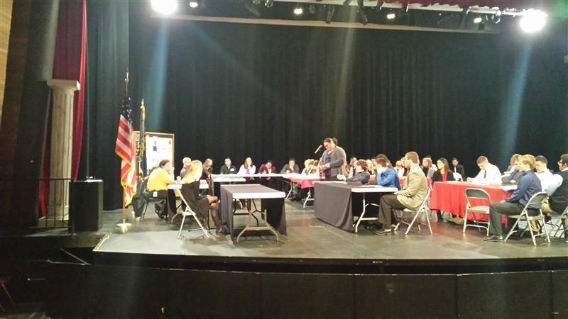 High School Students Participate in Innaugural Mock Trial Competition