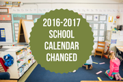 School Calendar Changed to Make Up Snow Days