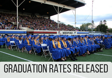 Medford School District Celebrates Highest Graduation Rate in its History
