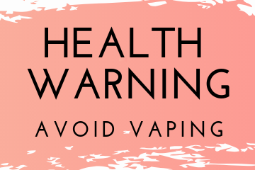 Jackson County Health Warning - Avoid Vaping