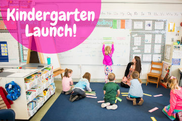 NEW DATE: Kindergarten Launch - May 20
