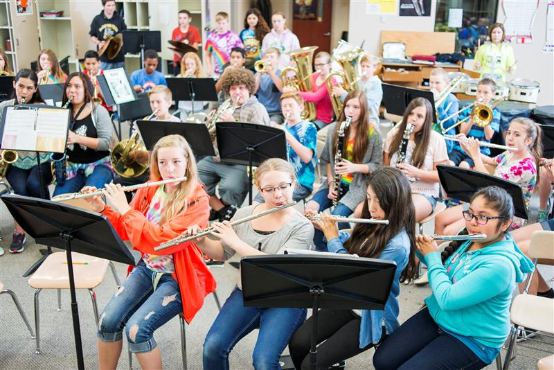 MSD Purchases Hundreds of New Musical Instruments for Students