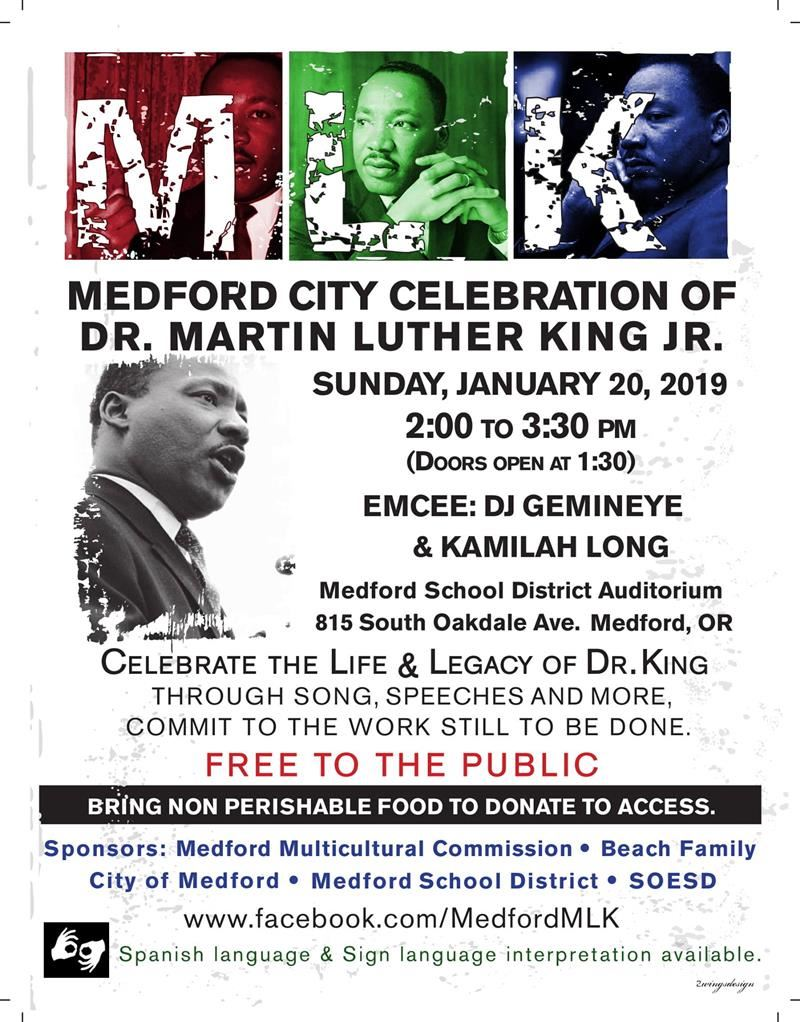 MLK Day Flyer