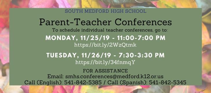 Parent-Teacher Conferences 2019